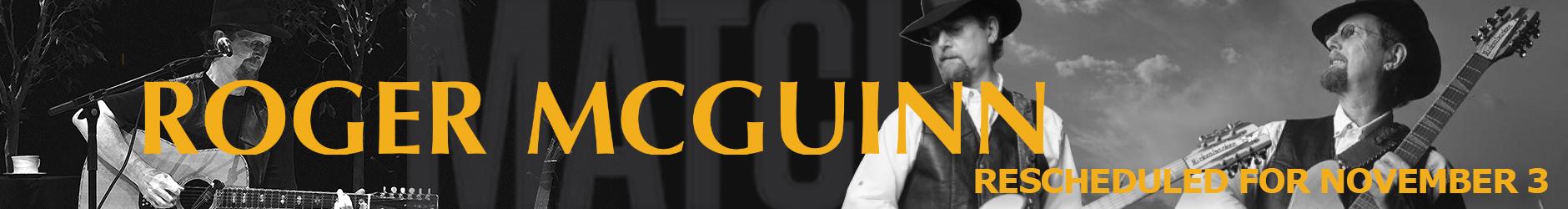 MATCH Presents - Roger McGuinn Banner