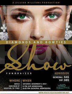 No Excuse Foundation - Diamonds and Bowties 2017
