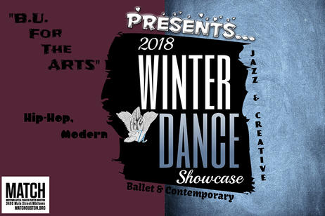 BU for the Arts Dance Studio - Winter Dance Showcase