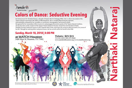 Indian Performing Arts Samskriti - Colors of Dance