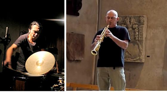 Michel Doneda and Tatsuya Nakatani
