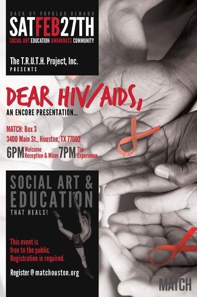TRUTH Project - Dear HIV/AIDS Encore