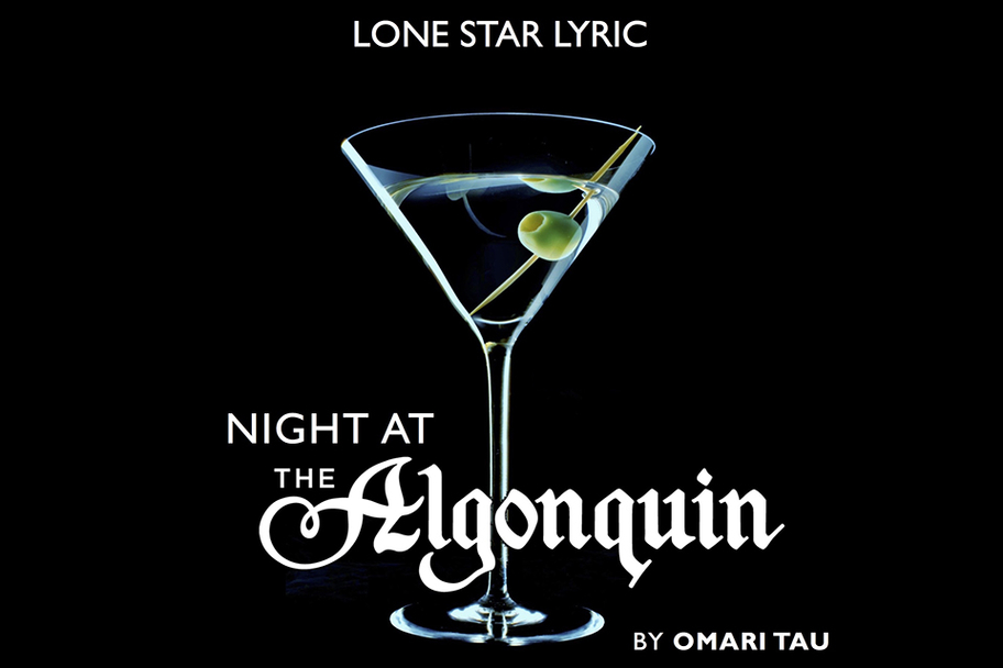 """Night at the Algonquin"""" with a """"Cocktail Hour Cabaret"""" 