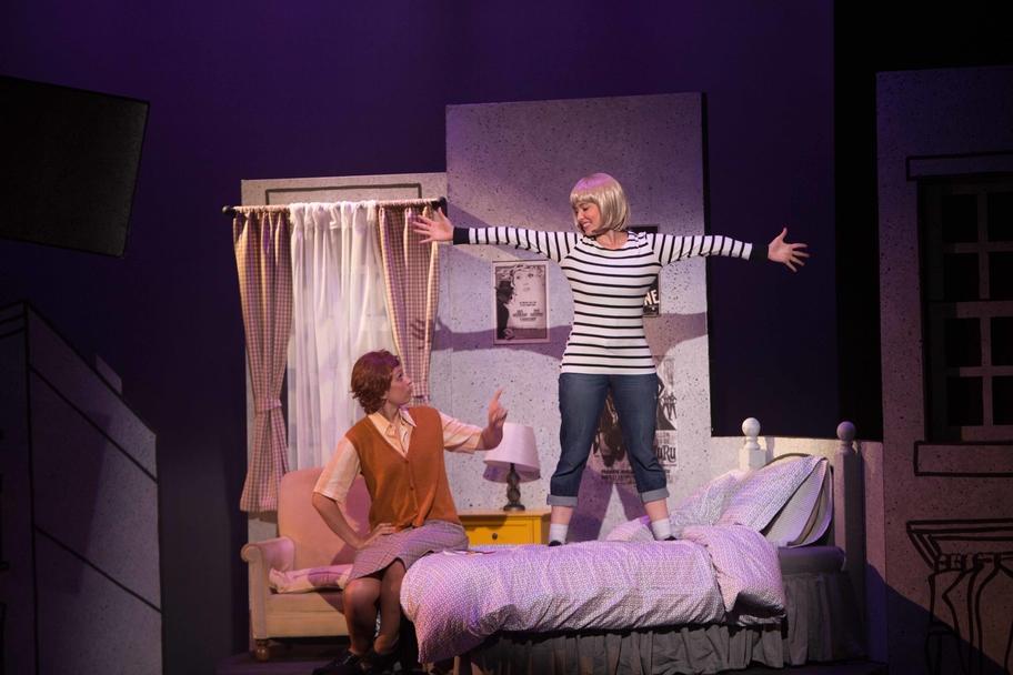 Main Street Theater - Harriet the Spy Bed