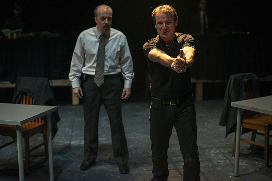 Dirt Dogs Theatre Co - A Steady Rain Production Photo 5