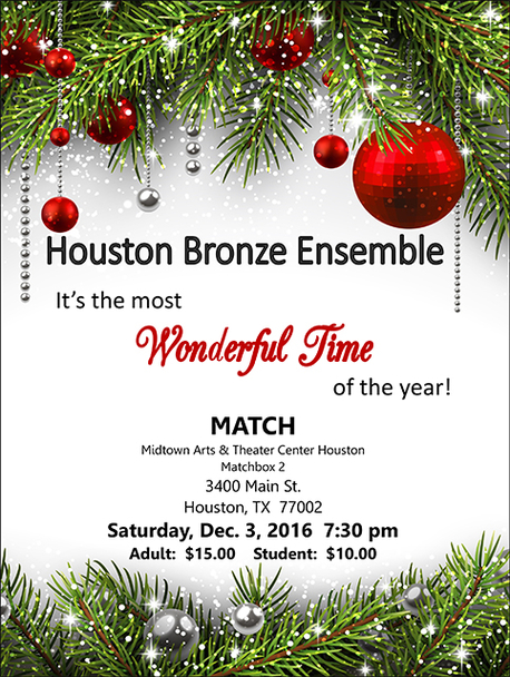 Houston Bronze Ensemble - It's the Most Wonderful Time of the Year
