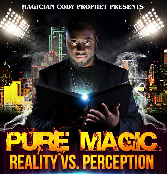Cody Prophet Live - Pure Magic VS Perception