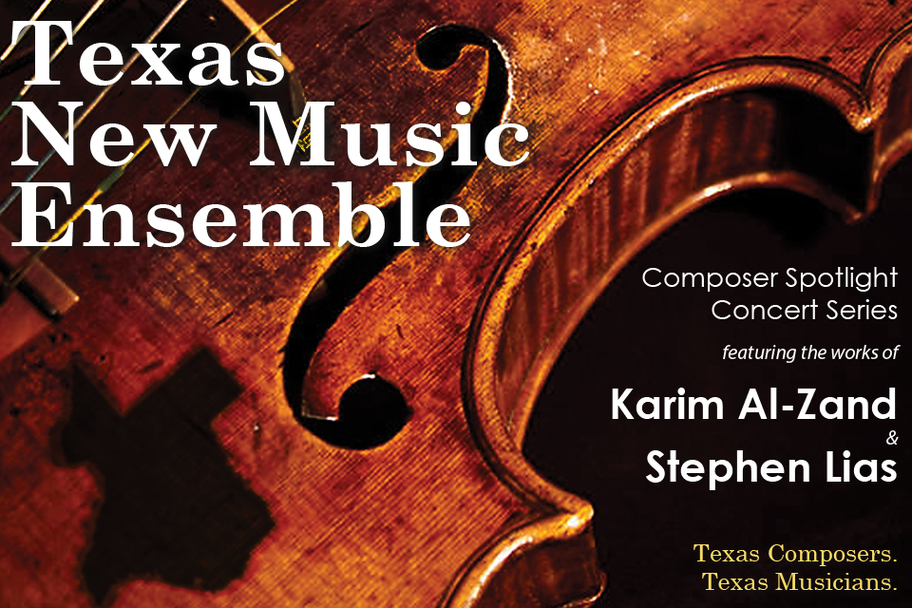 Texas New Music Ensemble - Composer Spotlight Concert Series