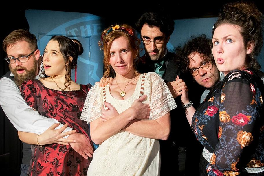 Houston Fringe Festival - Heavens, Mr. Darcy!