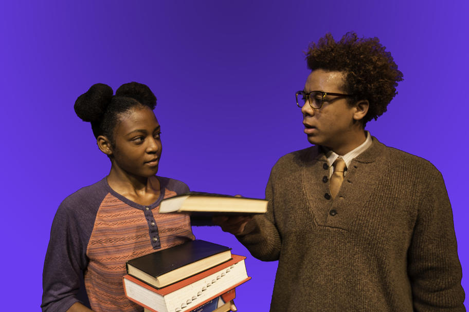 Main Street Theater - Akeelah and the Bee - Akeelah and friend