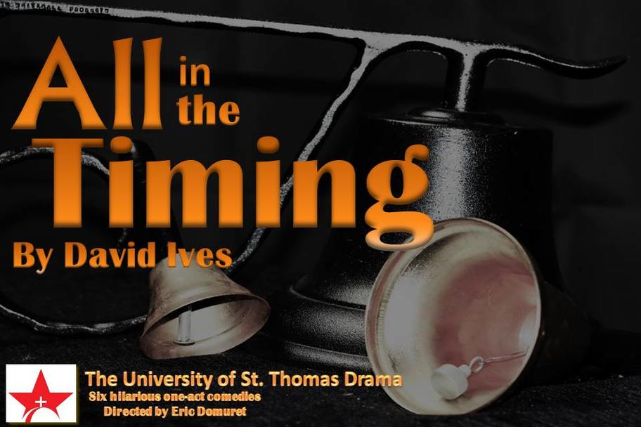 University of St. Thomas - All in the Timing