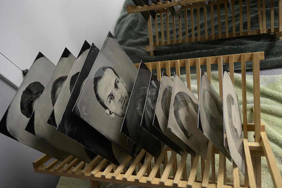 Keliy Anderson-Stalyey - Tintypes drying
