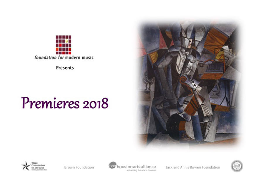 Foundation for Modern Music - Premieres - Debuts and Firsts
