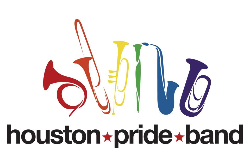 Houston Pride Band logo graphic