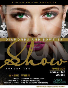 No Excuse Foundation - Diamonds and Bowties 2017