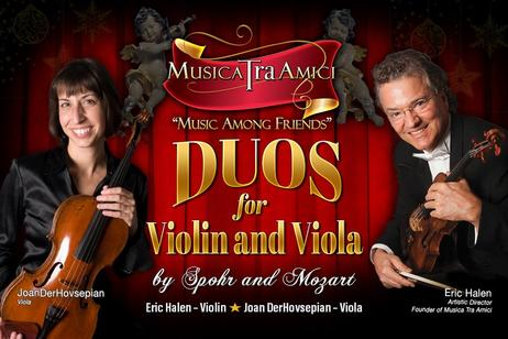 Musica Tra Amici - Duos for Violin and Viola