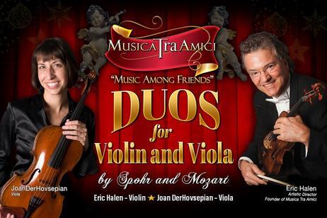 Musica Tra Amici - Duos for Violin and Viola