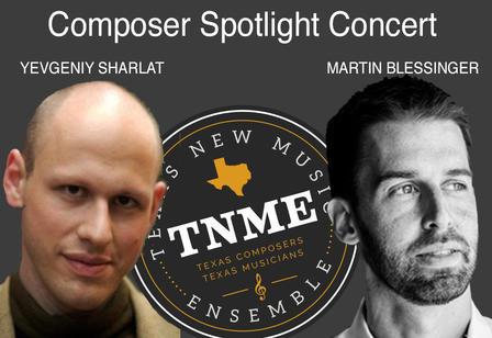 TNME - 2019 Spring Composer Spotlight Concert
