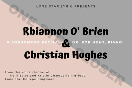 Lone Star Lyric - A Sophomore Recital