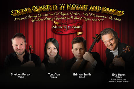 Musica Tra Amici - String Quartets by Mozart and Brahms