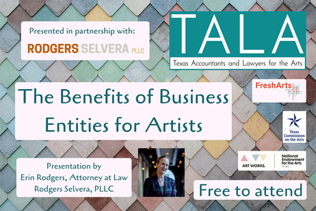 TALA - The Benefits of Business Entities for Artists