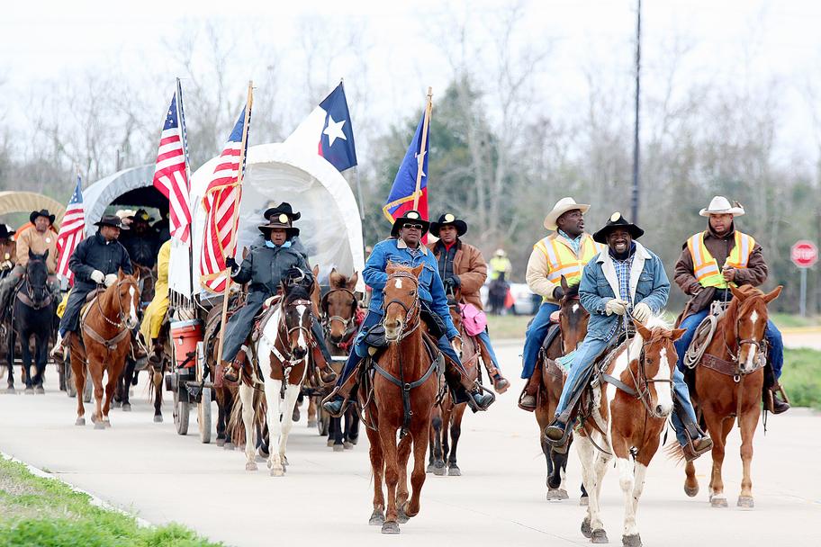 Houston Arts Alliance - Houston's African-American Trail Riders