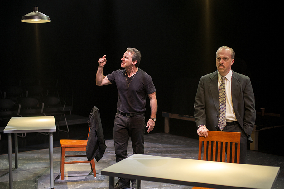 Dirt Dogs Theatre Co - A Steady Rain Production Photo 3