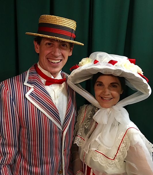 South Main Baptist Church - Bert and Mary Poppins