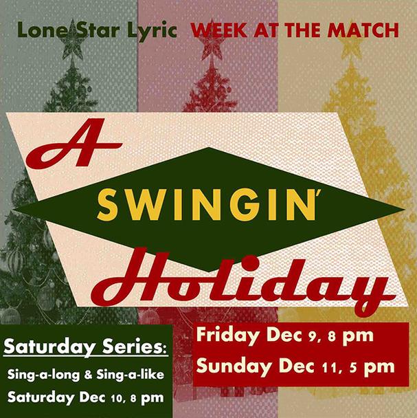 Lone Star Lyric - A Swingin' Holiday