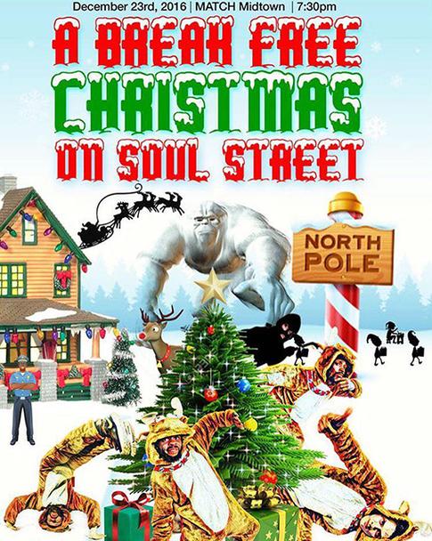 Break Free Christmas on Soul Street