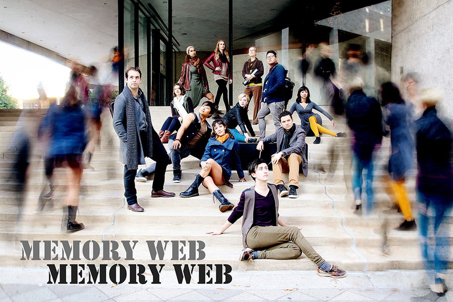 AURA and Psophonia - Memory Web 1 - Photo by Pin Lim
