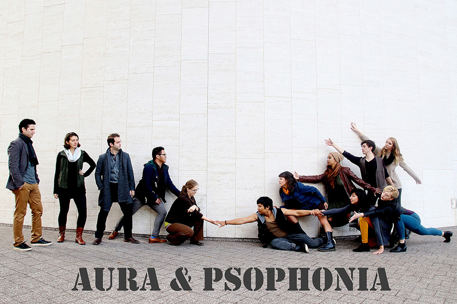 AURA and Psophonia - Memory Web 3 - Photo by Pin Lim