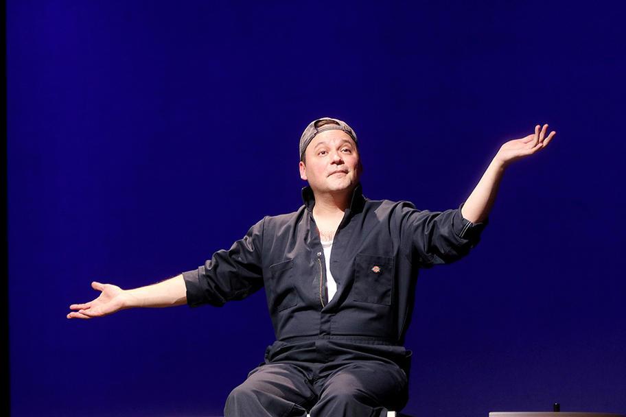 Next Iteration Theater Co. - Turquoise - Rhett as Guy