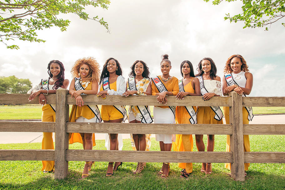 2017 Houston Caribbean Queen Pageant - Group 1