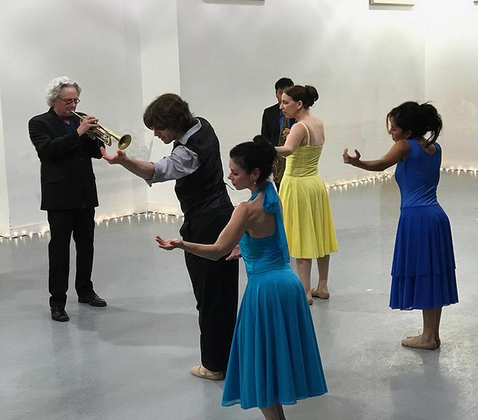 Michele Brangwen Dance Ensemble - Boomtown Brass Band 5
