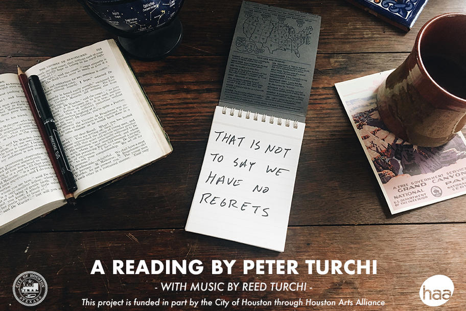 Peter Turchi - That is Not to Say We Have No Regrets