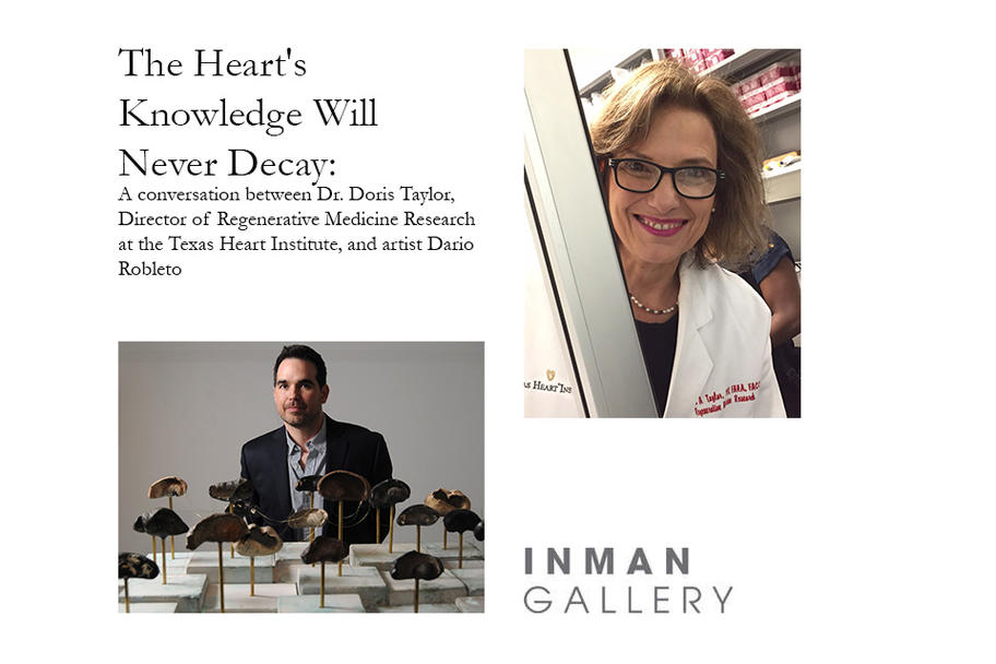 Inman Gallery - The Hearts Knowledge Will Never Decay