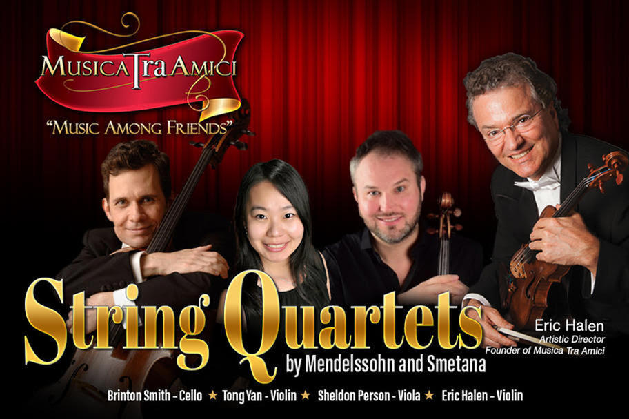Musica Tra Amici - String Quartets by Mendelssohn and Smetana