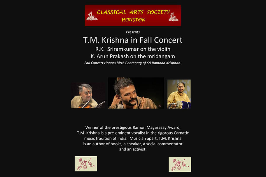 Classical Arts Society - Fall Concert 2018