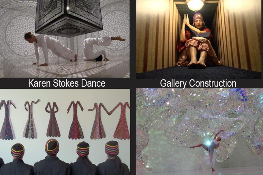 Karen Stokes Dance - Gallery Construction