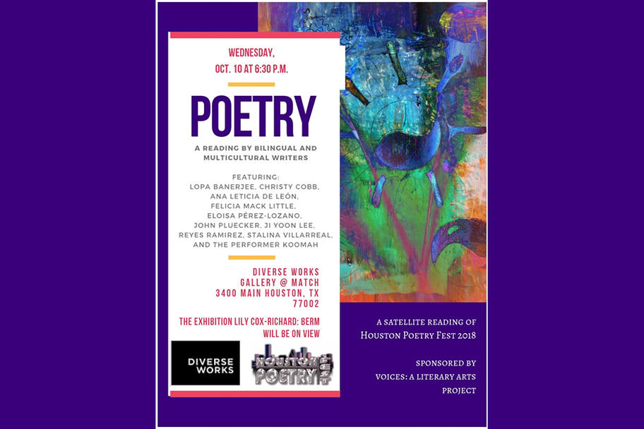 DiverseWorks - Bilingual and Multicultural poetry reading