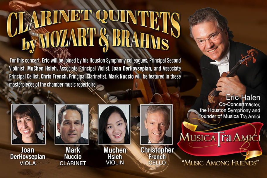 Musica Tra Amici - Clarinet Quintets