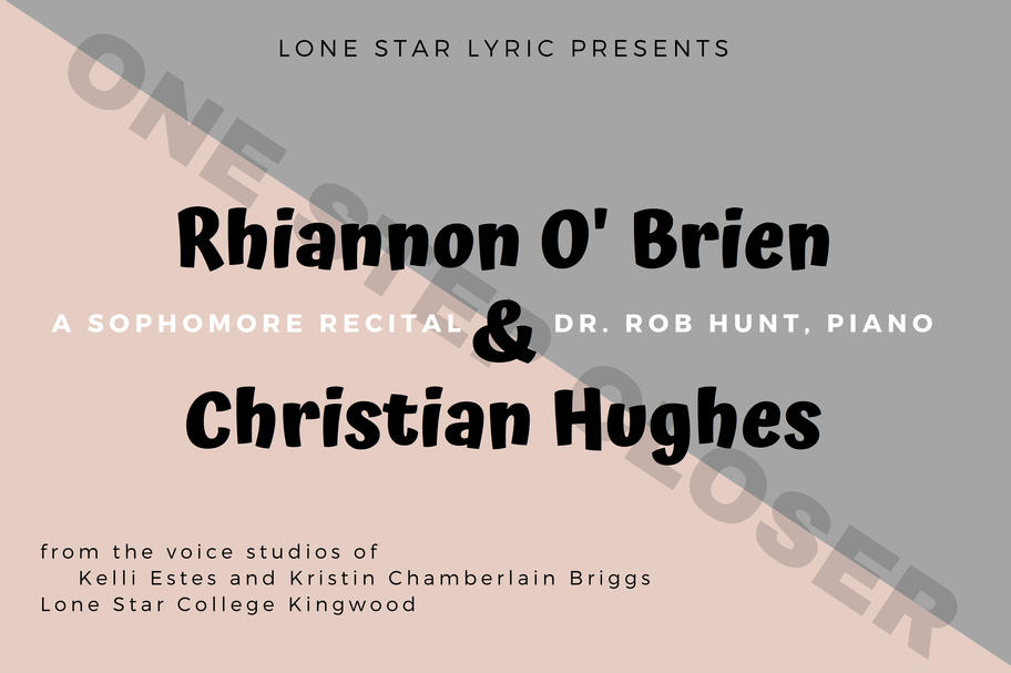Lone Star Lyric - A Sophomore Recital