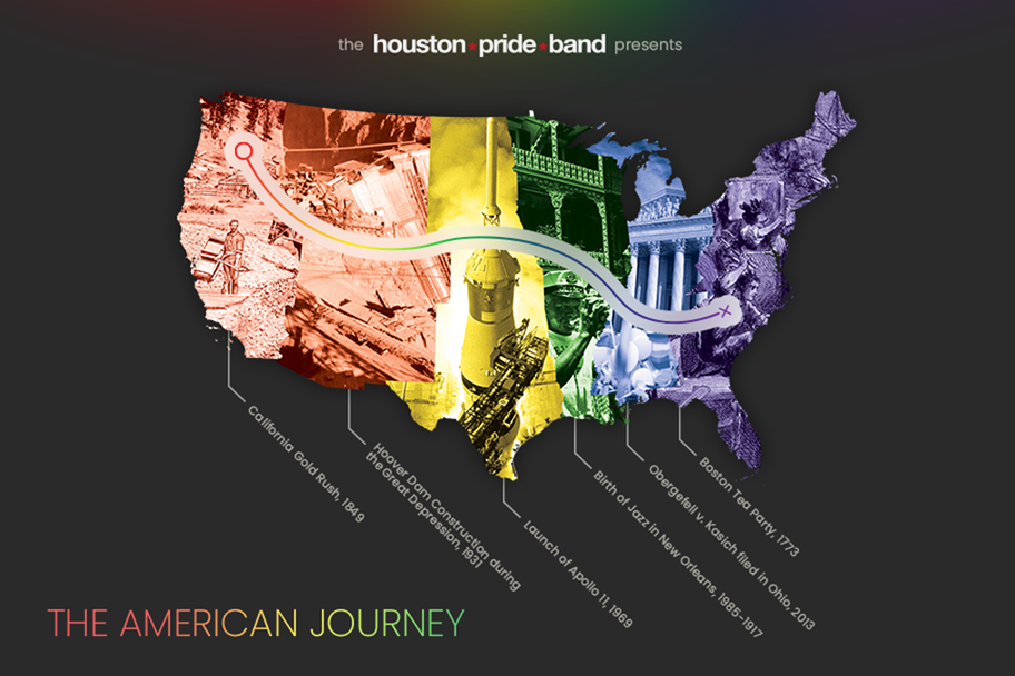 Houston Pride Band - The American Journey