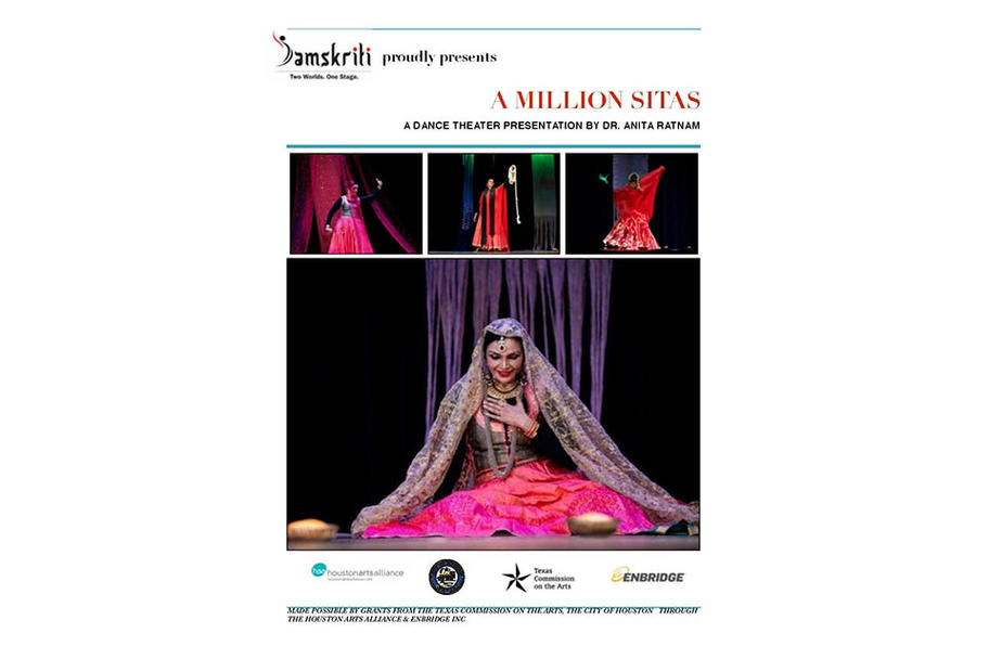 Indian Performing Arts Samskriti - A Million Sitas