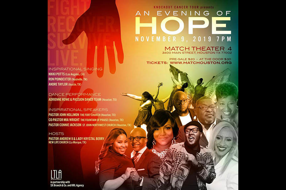 Knockout Cancer - An Evening of Hope