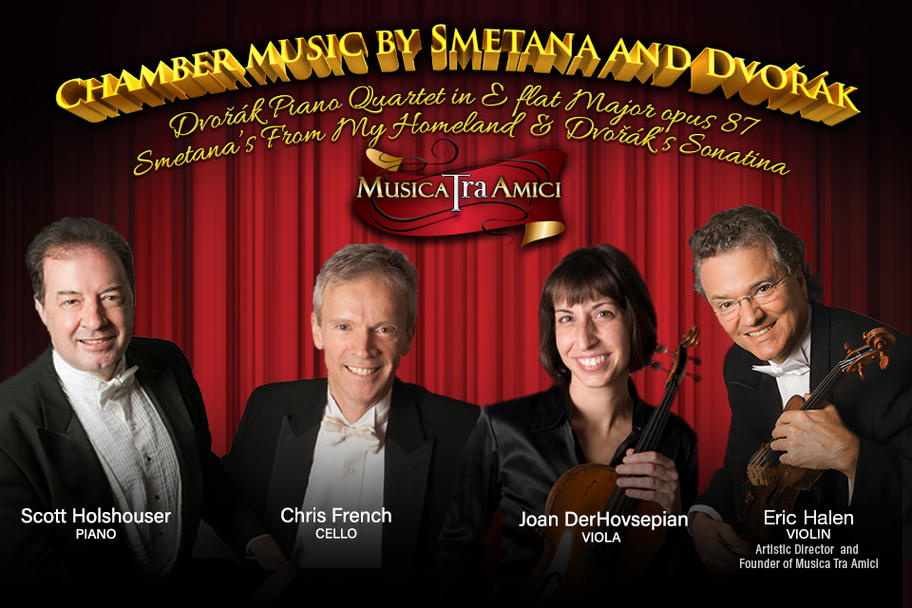 Musica Tra Amici - Songs and Chamber Music by Dvorak