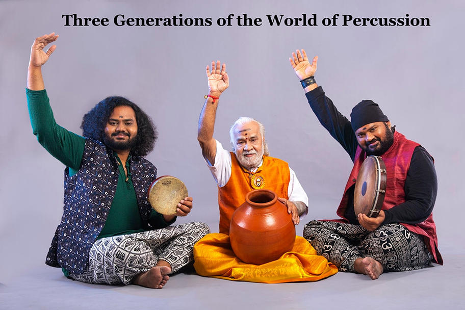 Society for IndoAmerican Arts - Three Generations of the World of Percussion