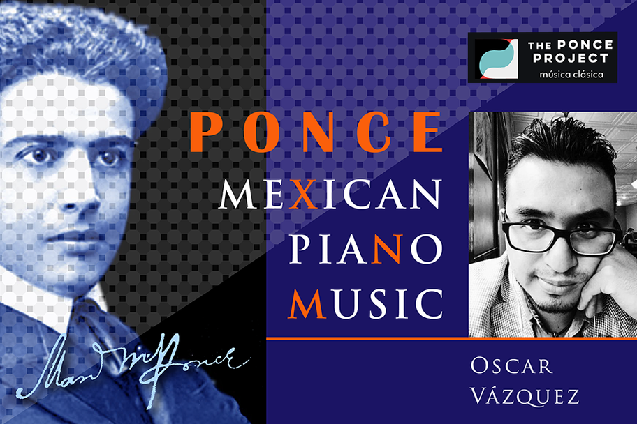 Ponce Project - Ponce Mexican Piano Music