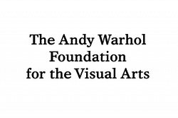 The Andy Warhol Foundation for the Visual Arts